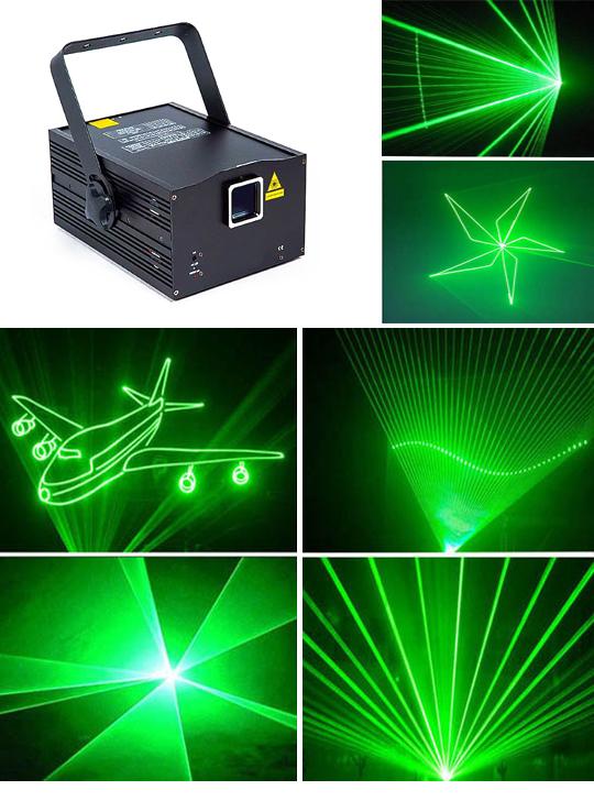 Программируемый лазерный проектор