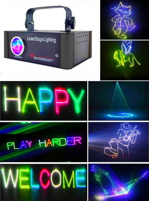Лазерные проекторы для рекламы