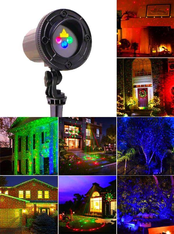 Уличная лазерная подсветка