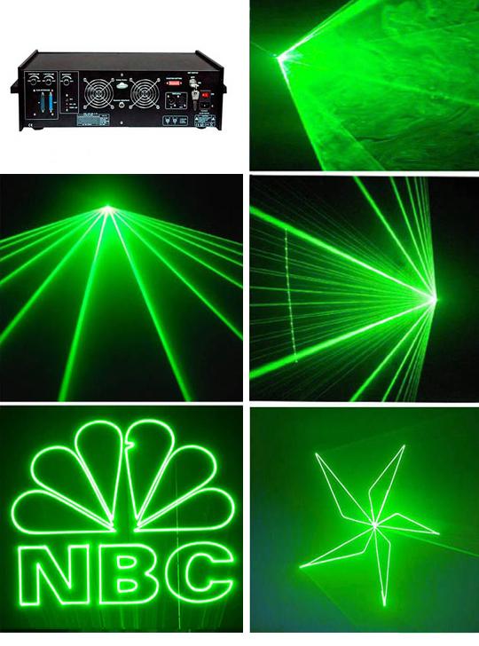 Анимационный лазерный проектор