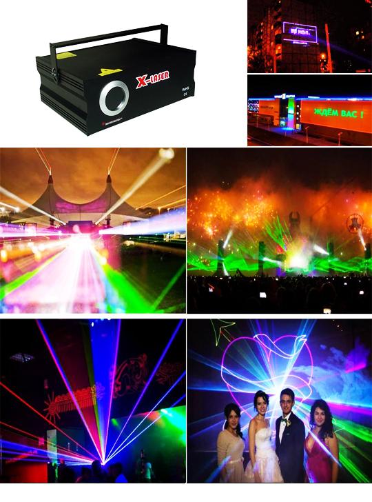 Проецирующий лазерный проектор